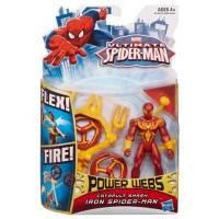 Ultimate Spider-Man - Power Webs - Iron Spider-Man - Catapulte Fracassante
