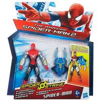 The Amazing Spider-Man - Spider Strike - Figurine Spider-Man Gantelet Coupant - 10 cm