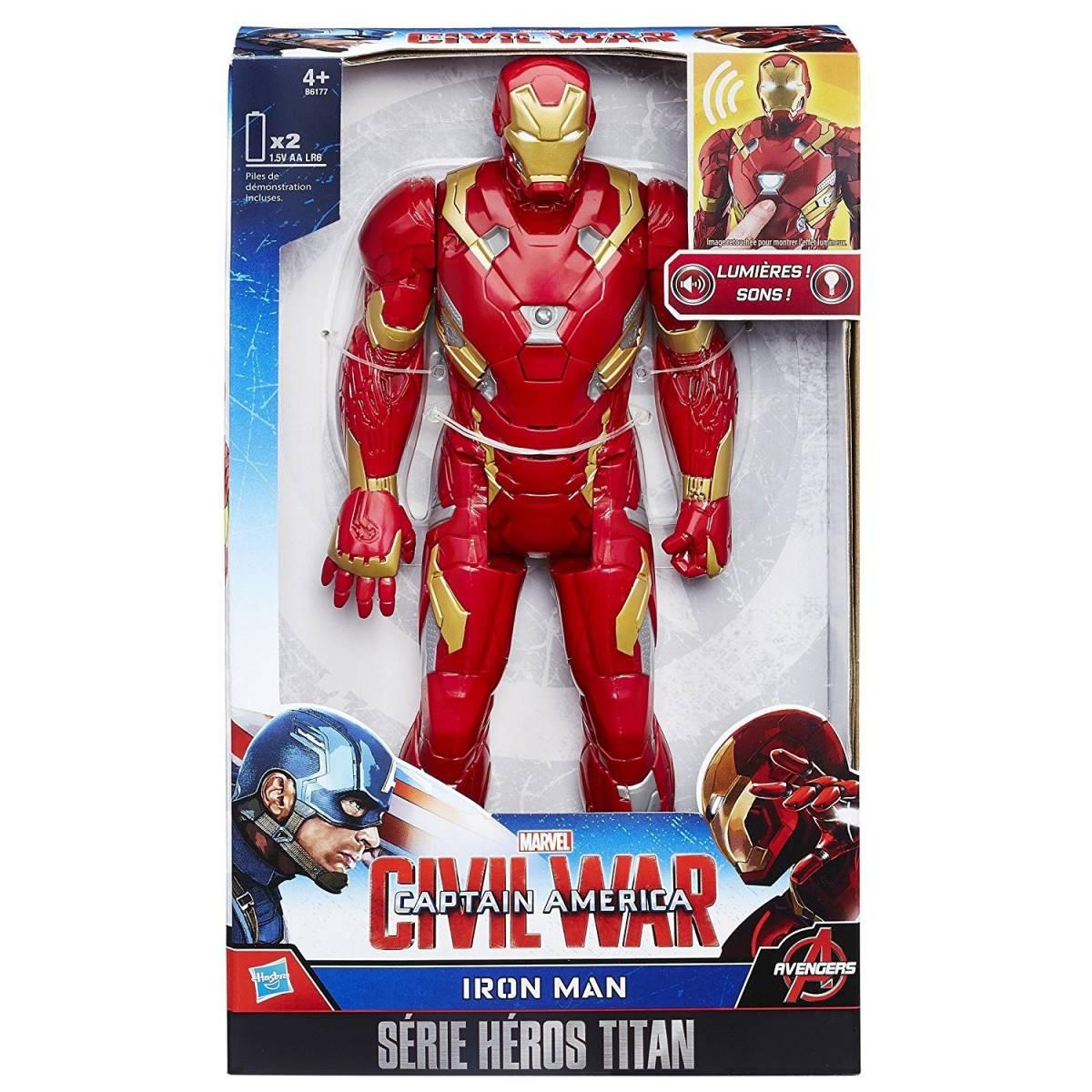 Marvel Avengers - Figurine Electronique 30 cm - Iron Man