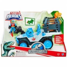Playskool Heroes - Jurassic World - Véhicule Dino-Tracker 4x4