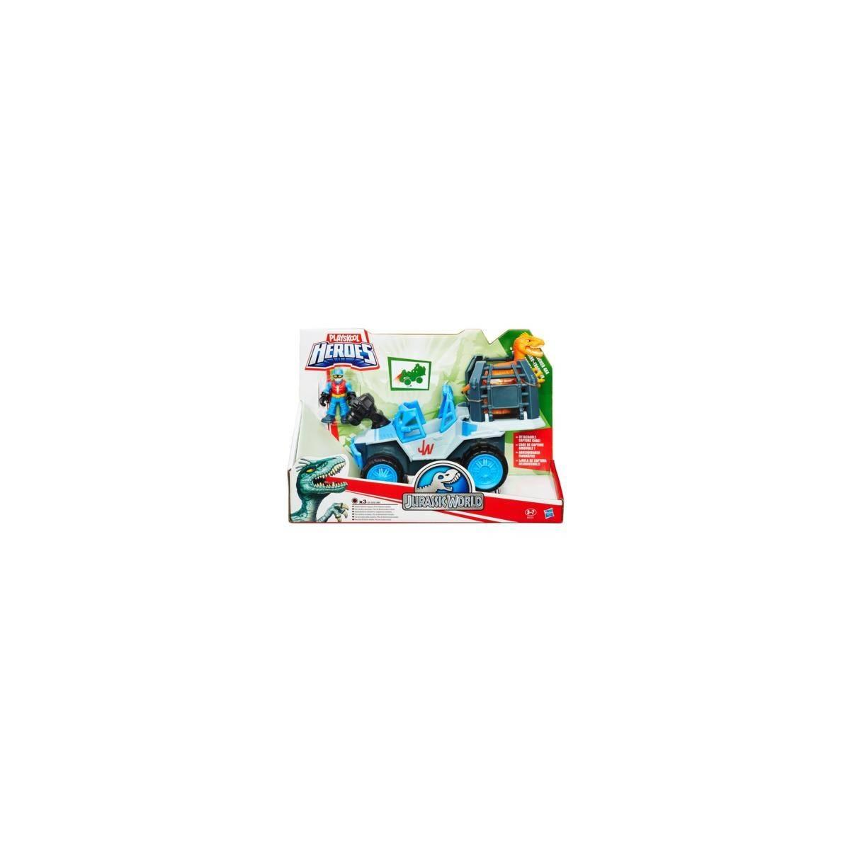 Jurassic World - Véhicule Dino-Tracker 4x4