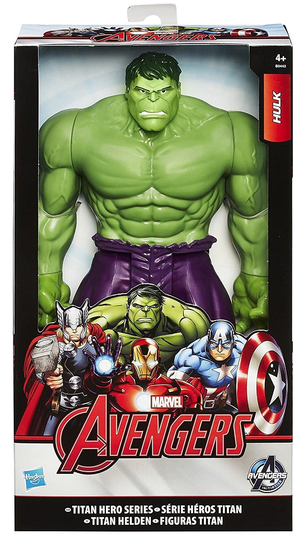 4 figurines avengers 30 cm