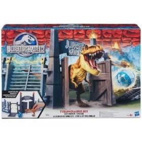 Jurassic World - Coffret Dinosaure - L'enclos du Tyrannosaurus Rex