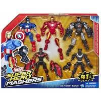 Marvel - Les Avengers Super Hero Mashers - Pack 41 Pièces