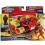 Power Rangers - Véhicule Légendaire et Ranger Rouge - 38083