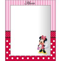 Disney - Minnie Mouse - Miroir Mural