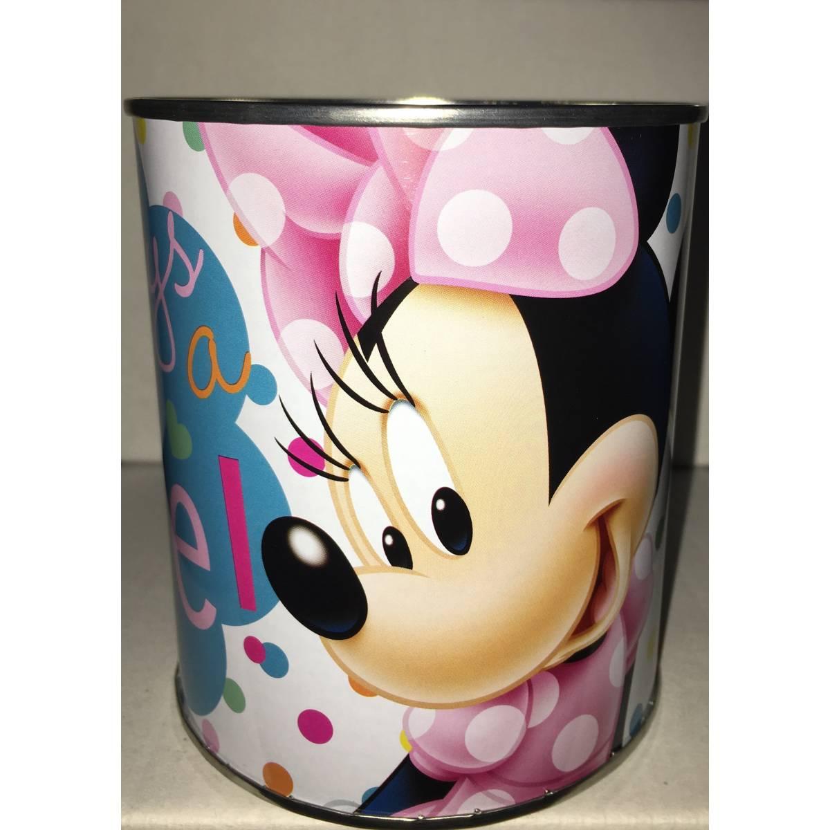 Minnie Mouse - Tirelire en Métal 12 x 10 cm
