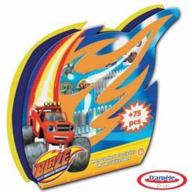 Blaze et les Monster Machines - Coffret d'Activités 75 pcs