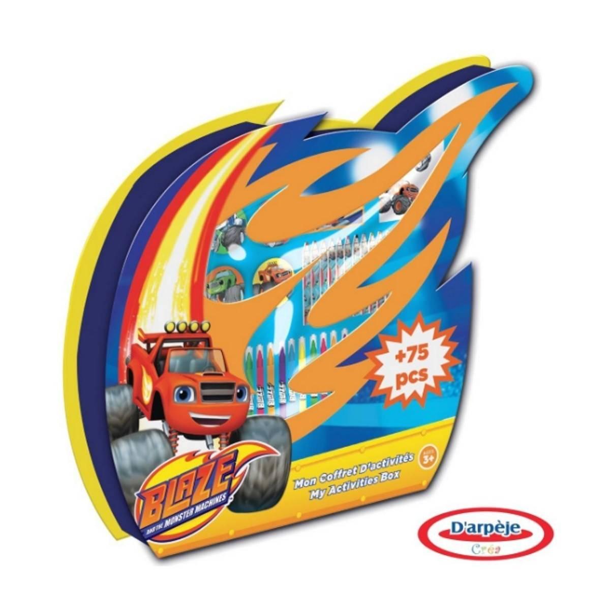 Blaze et les Monster Machines - Coffret d'Activité 75 pcs