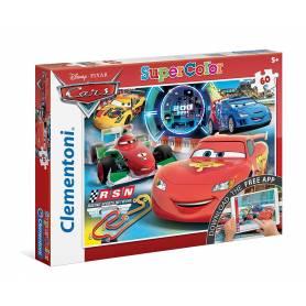 Cars Disney Pixar - Clementoni Puzzle 60 Pièces