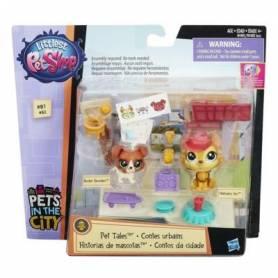 Little Pet Shop - Figurines - Buster et Hansamu - Contes Urbain