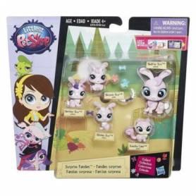 Little Pet Shop - Figurines - Famille de 5 Petshops