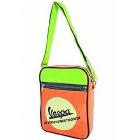 Vespa - Sac à bandoulière Orange et Vert - 605418