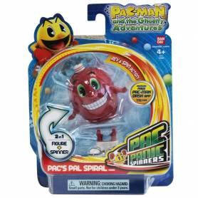 PacMan - Toupie Panic - Figurine - Spirale 8 cm