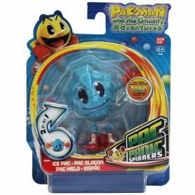 Pac-Man - Toupie Panic - Figurine Pac Glaçon 8 cm