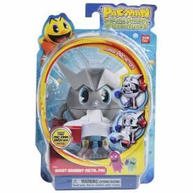 Pac-Man - Pac Métal Chasseur de Fantômes - Figurine 10 cm