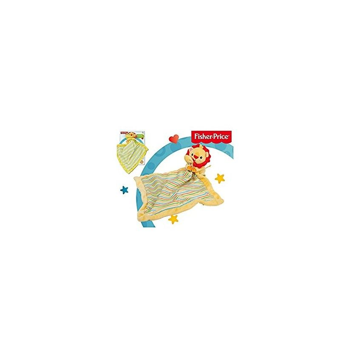Fisher Price - Doudou en Peluche - Lion