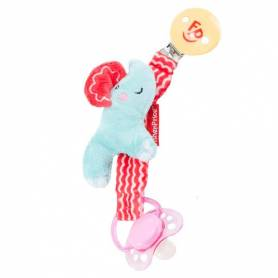 Fisher Price - Clip ciuccio elefante