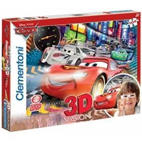 Clementoni - Puzzle 3D Vision - 104 pièces