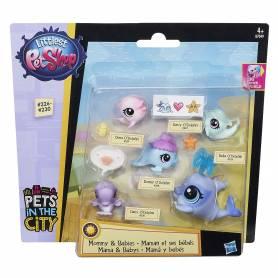 Little Pet Shop - Famille de 5 Pet Shop - O'Dolphin
