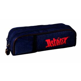 Asterix Idefix - Trousse rectangulaire 2 Compartiments