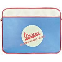 """Vespa - Pochette pour écran jusqu'à 15"""" - Bleu/Ecru - VPSD01"""