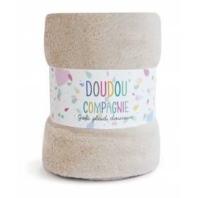 Doudou et Compagnie - Jolie Plaid bébé Douceur