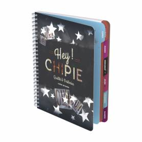 """Chipie - Cahier de Texte """"Qualité et Drôleries"""" - 160 Pages"""