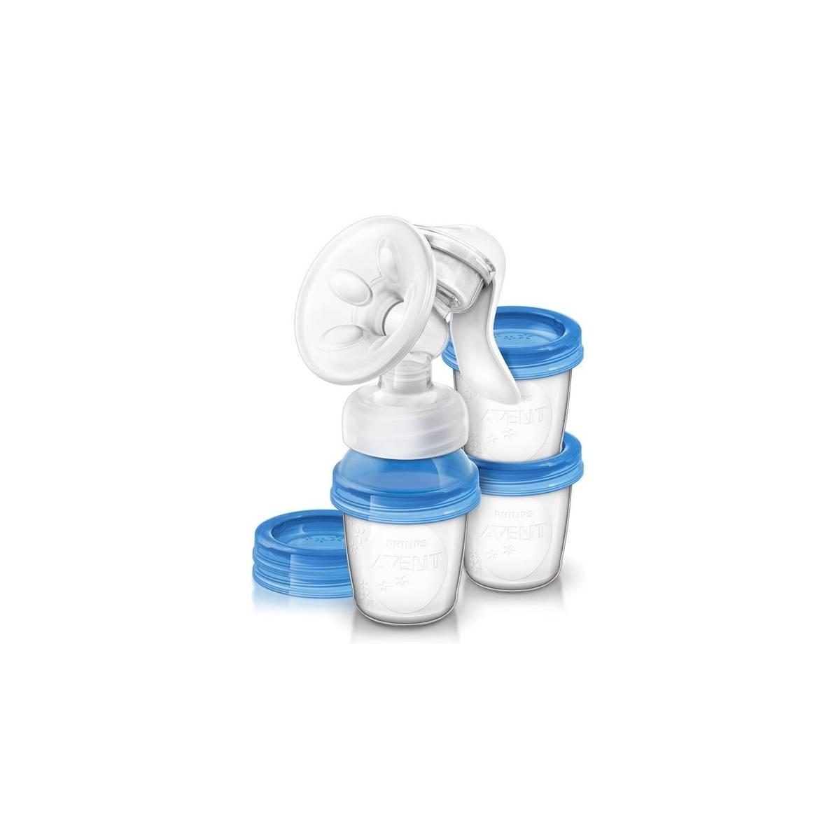 Tire-lait manuel Natural avec système de conservation