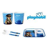 Playmobil - Set Déjeuner 3 piéces Pirate Bleu
