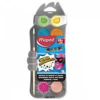 MAPED - Boite de 12 Pastilles de Gouache Color'Peps Ultralavable