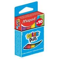 MAPED - Boite de 10 Craies de Couleurs