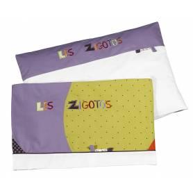 Sauthon - Parure de Lit + Taie - Zigotos
