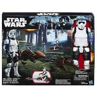 Star Wars - Figurine 30 cm et Véhicule Motojet