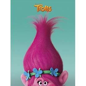 """Trolls - Cahier de Texte """"Poppy"""" - 160 Pages"""