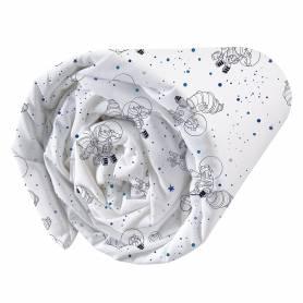L'Age de Glace - Drap Housse Univers - 90 x 190 cm