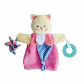 Doudou et Compagnie - Doudou Marionnette Chat Magic