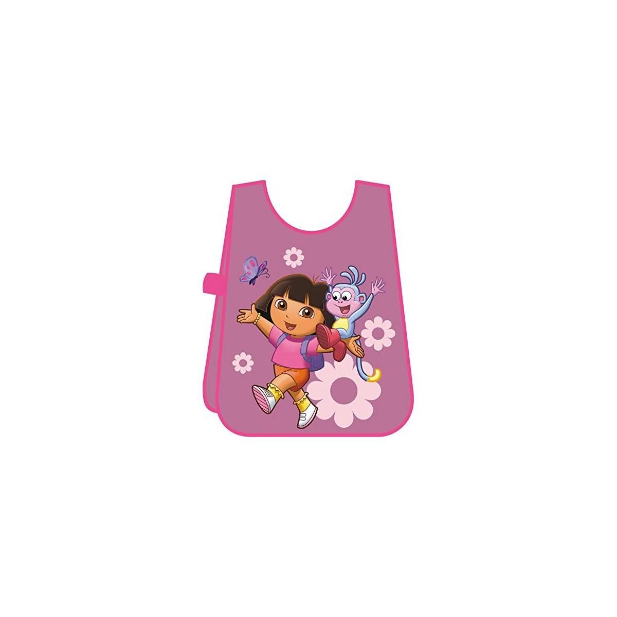 Dora - Tablier de Peinture Enfant - Rose - Disney