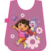 Dora - Tablier de Peinture Enfant pour fille Rose