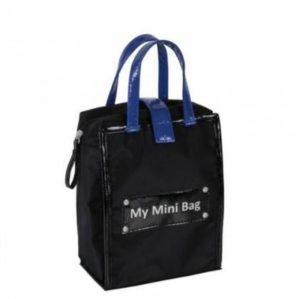Baby On Board - My Mini Bag - Noir/Bleu