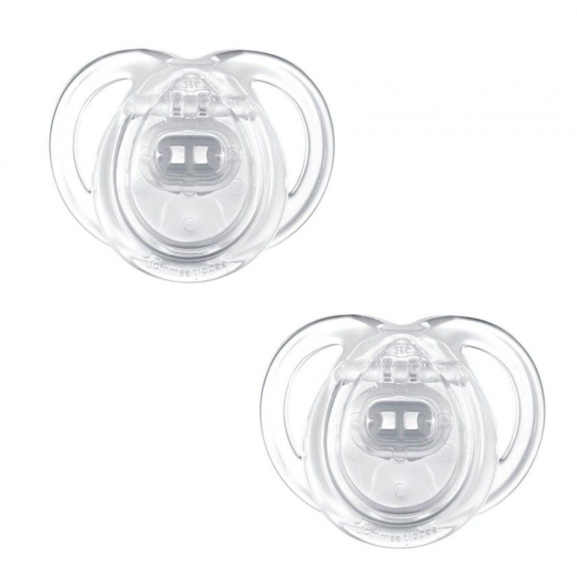 Tommee Tippee - Lot de 2 Sucettes Any Time - 6/18 Mois