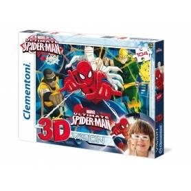 Ultimate Spider-man - Puzzle 3D Vision - 104 pièces