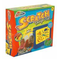 Scratch - Design Set - Feuilles à Gratter Holographiques et Arc-en-ciel