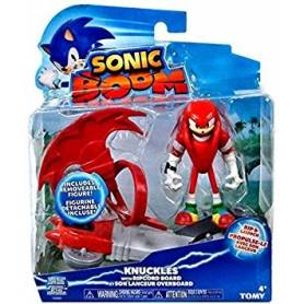 TOMY - Sonic Boom - Figurine Knuckles et Son Lanceur Overboard