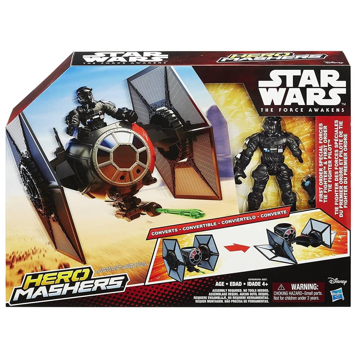 Hero Mashers - Star Wars - Véhicule - Tie Fighter Pilot