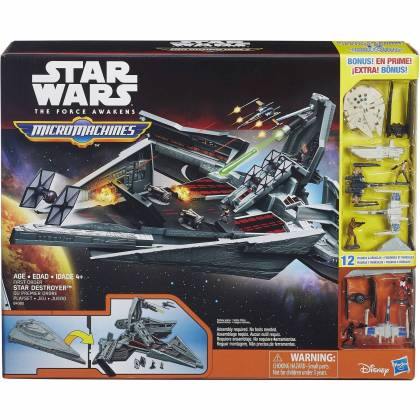 Star Wars - Micormachines - Coffret Star Destroyer - B4080