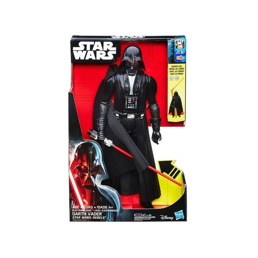 Star Wars Rebels - Figurine Electronique Darth Vader 30 cm - B7284
