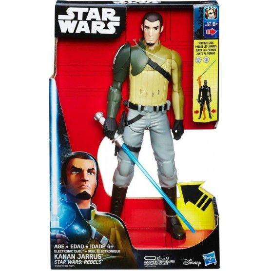Star Wars Rebels - Figurine Electronique Kanan Jarrus 30 cm