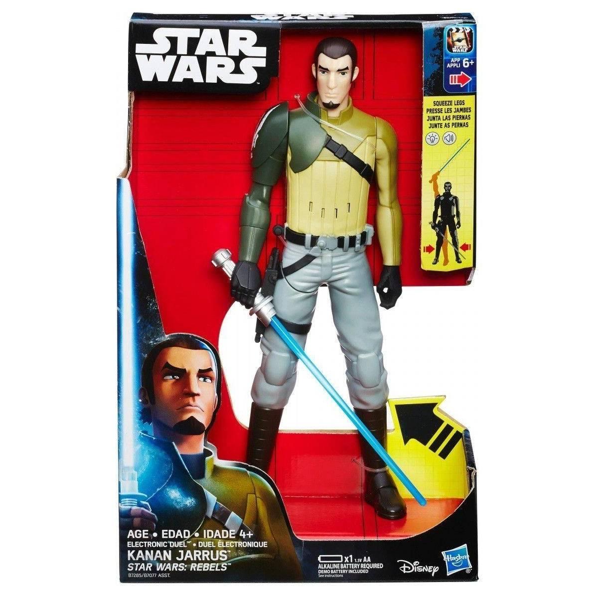 Star Wars Rebels - Figurine Electronique Kanan Jarrus 30 cm - B7285