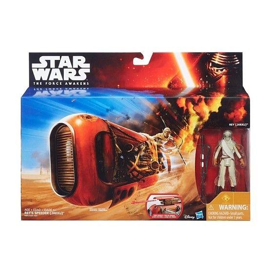 Star Wars - Vehicule Rey's Speeder - B3676
